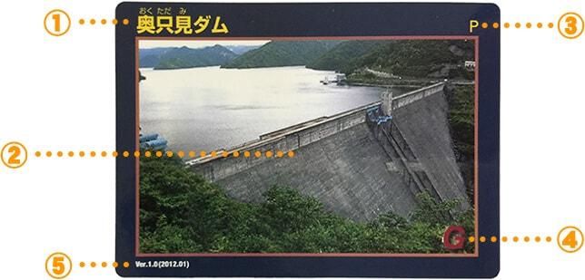 ダムカード(表面)
