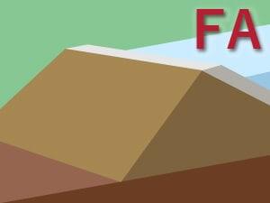 表面アスファルト遮水壁型フィルダム